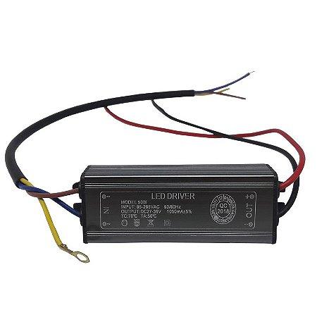 Drive reator 50w para reposição refletor led bivolt