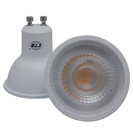 Lâmpada Led Dicróica Spot Gu10 Branco Quente e Frio 6w Inmetro 110-220v