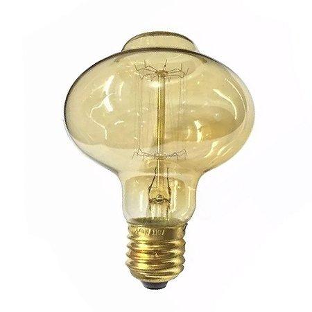 Lâmpada Filamento de Carbono 40w 110v E27  BR85 Retrô