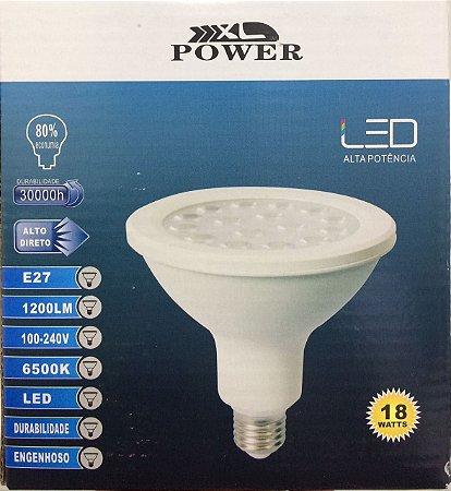 Lâmpada Led Par38 18w Real E27 Branco Frio e Quente Bivolt Classe A