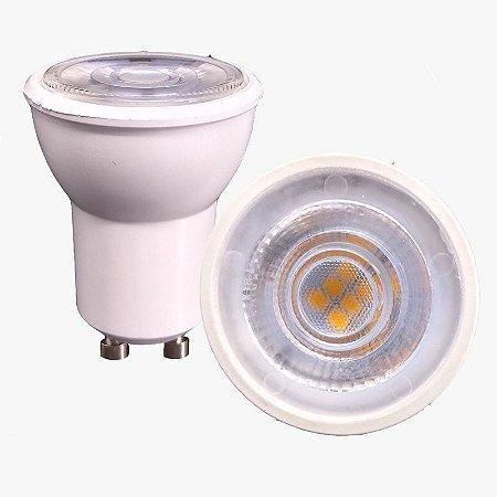 Lâmpada Led Mini Dicróica Gu10 3.5w Branco Frio e Quente Inmetro