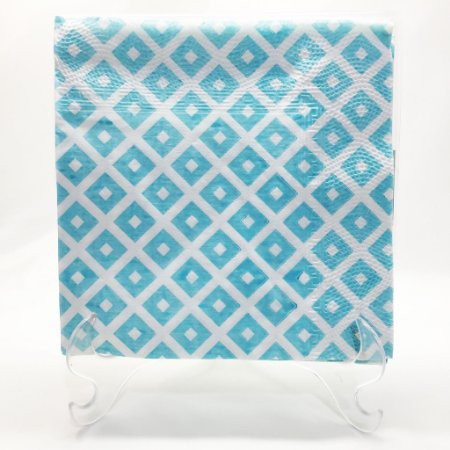 Guardanapo de papel Azul geométrico - 33x33cm (10 unidades)