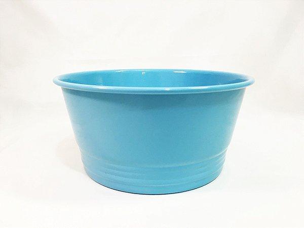 Cachepot redondo Azul Céu - 20cmx10cm