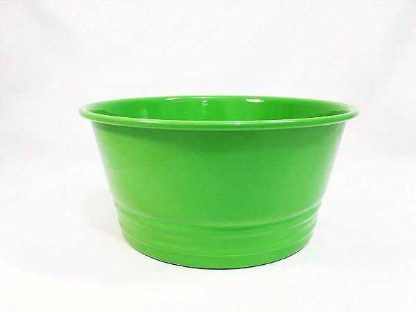 Cachepot redondo Verde - 20cmx10cm