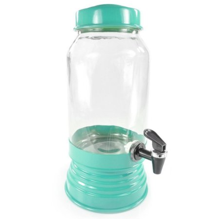 Suqueira de vidro Azul Tiffany - 3,250 ml