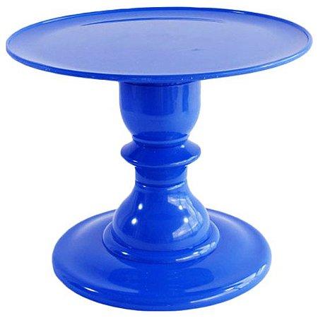 Boleira com pé torneado - Azul Bic