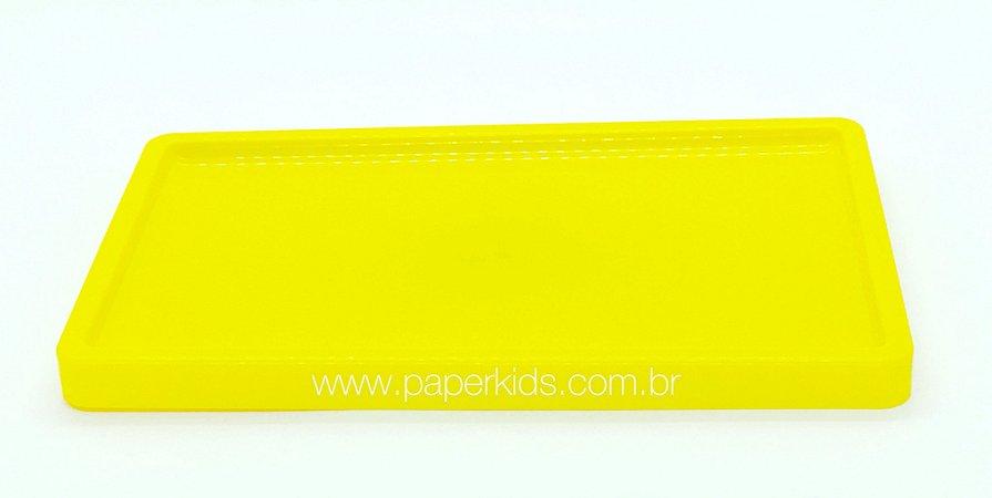 Bandeja para doces - Amarelo (30x18x2cm)