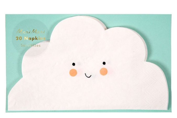 Guardanapo de papel Nuvem - Meri Meri (20 unidades)