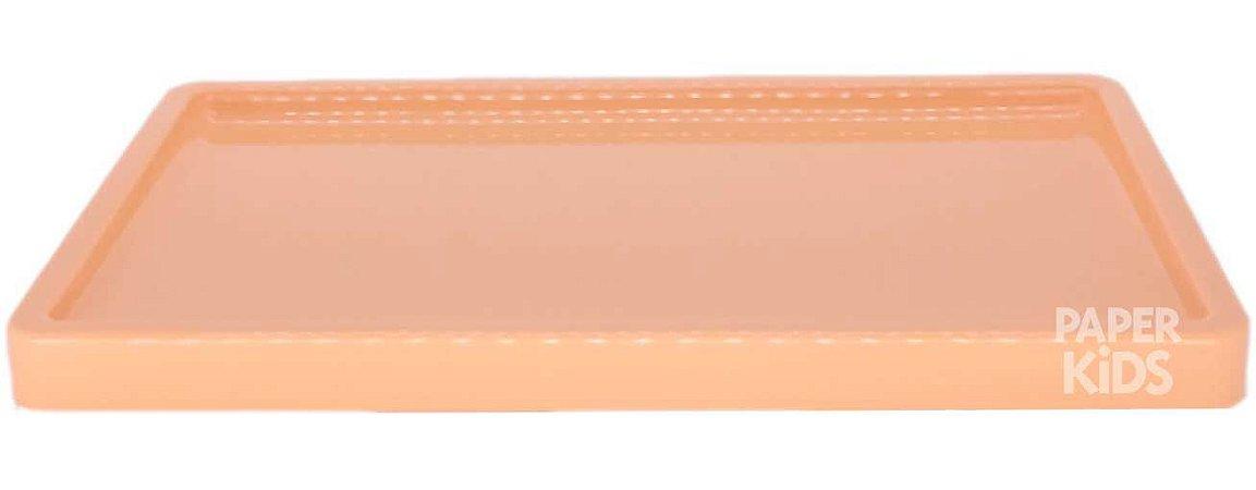Bandeja para doces - cor Papaia (30x18x2cm)
