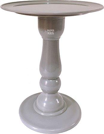 Boleira desmontável - Cinza (28 cm h x 22 cm)