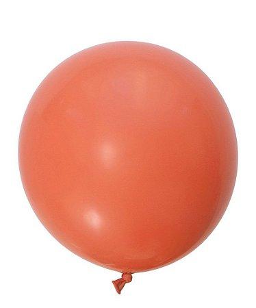 """Balão gigante 36"""" - Coral (unidade)"""