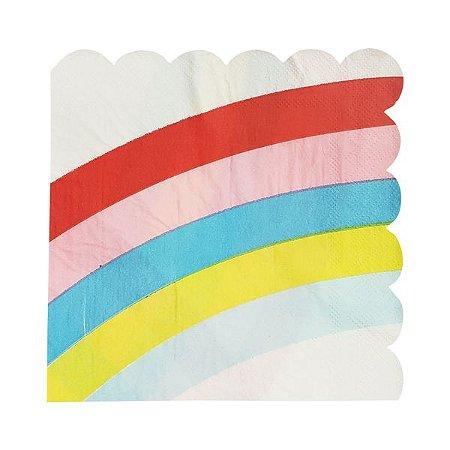Guardanapo de papel Arco-Íris - 33cm (20 unidades)