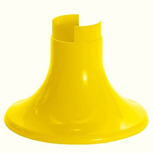 Pé para Vaso Artificial - Amarelo (12.5 cm h) - 1 unidade