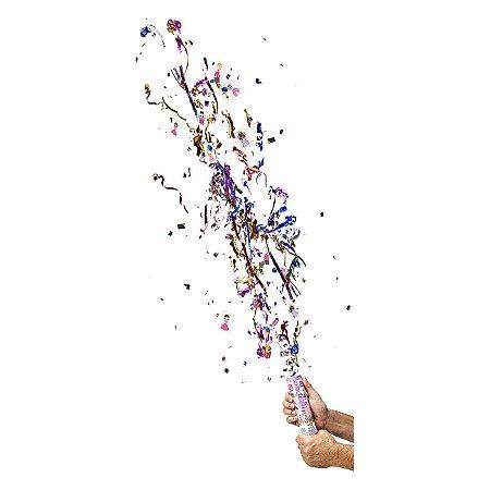 Lança confetes mola com adesivos - PRINCESAS