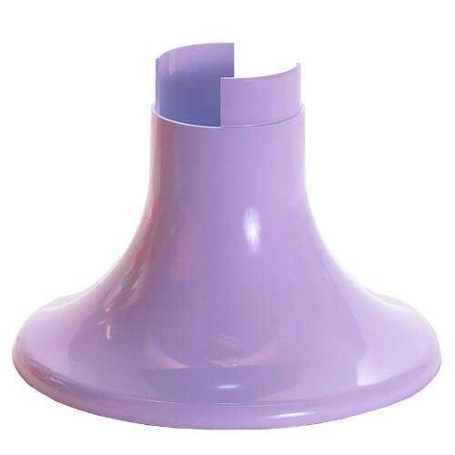 Pé para Vaso Artificial - Lilás (12.5 cm h) - 1 unidade