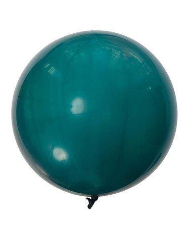 """Balão gigante 36"""" - Azul Petróleo (unidade)"""