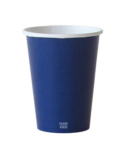 Copo de papel - Azul Marinho (10 unidades)