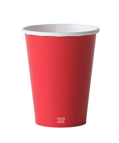 Copo de papel - Vermelho (10 unidades)