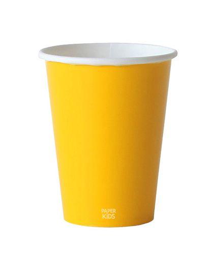 Copo de papel - Amarelo (10 unidades)