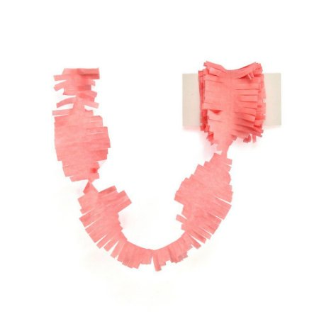 Cauda / Franja para balão - Rosa (5 cm x 3 metros)
