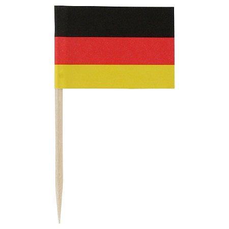 Pick dupla face - Bandeira Alemanha (100 unidades)