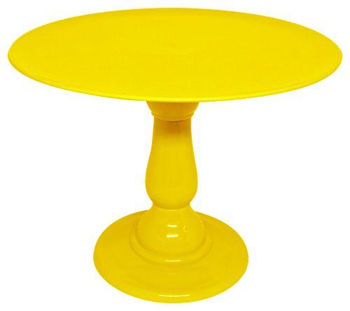 Boleira 23.5 cm altura - Amarelo