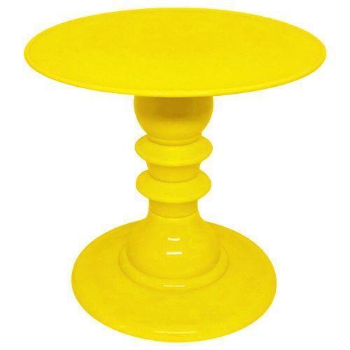 Boleira desmontável - Amarelo (19.5 cm h x 22 cm)