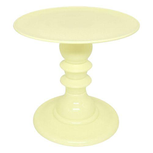 Boleira desmontável - Amarelo Claro (19.5 cm h x 22 cm)