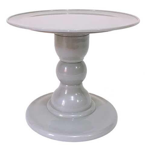 Boleira desmontável - Cinza (18 cm h x 22 cm)
