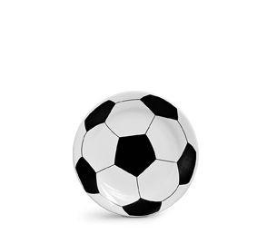 Prato Bola de futebol - 20,5 cm