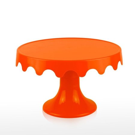 Boleira desmontável laranja (28 cm)