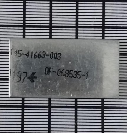 PLACA - 145-37478-401