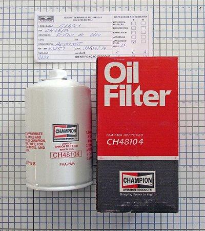 FILTRO DE ÓLEO - CH48104