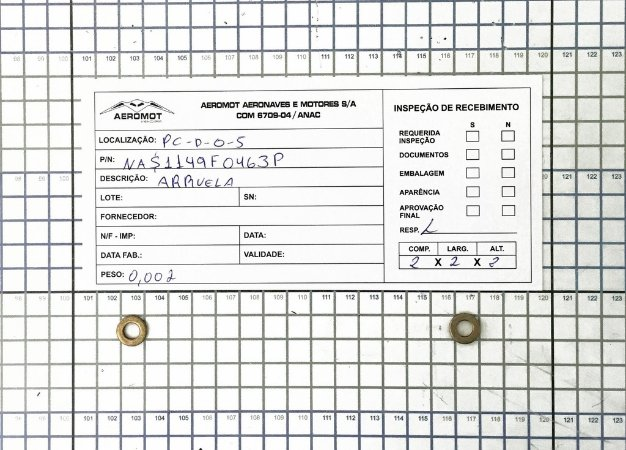 Arruela NAS1149F046P