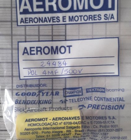 CAPACITOR - 24484 ( 4MF/500V )