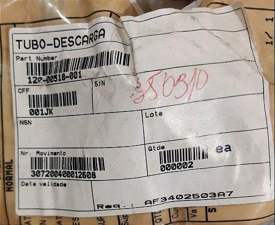 TUBO DESCARGA - 120-00518-001