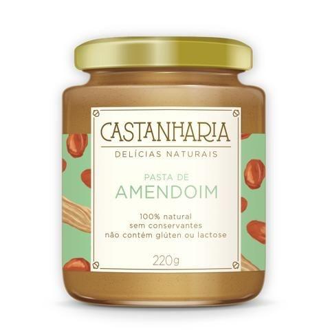 Pasta de Amendoim 210g - Castanharia