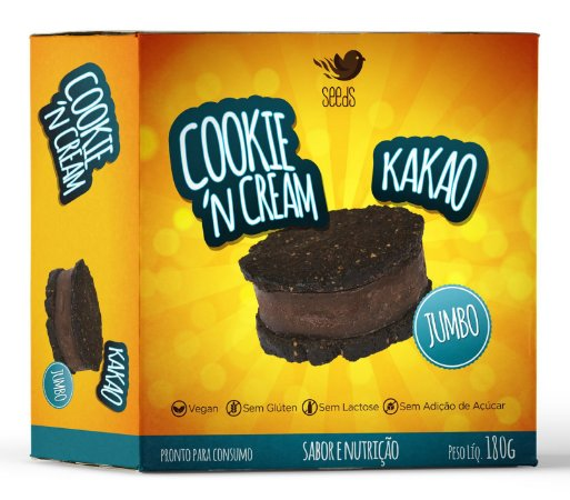 Cookie 'N Cream Kakao 180g - SEEds