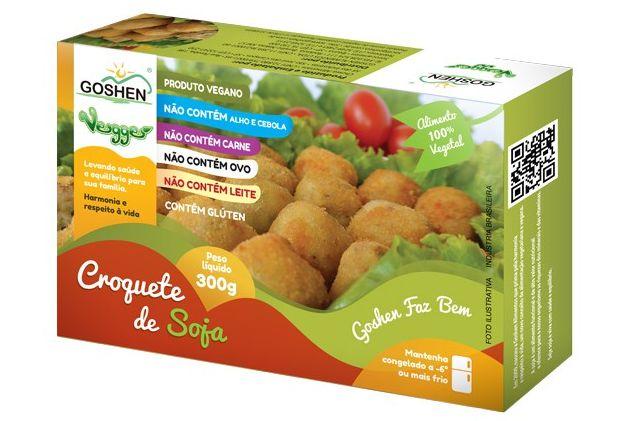Veggie Croquete de Soja 300g - Goshen