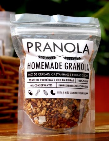 Granola Tradicional (200g) - Pranola