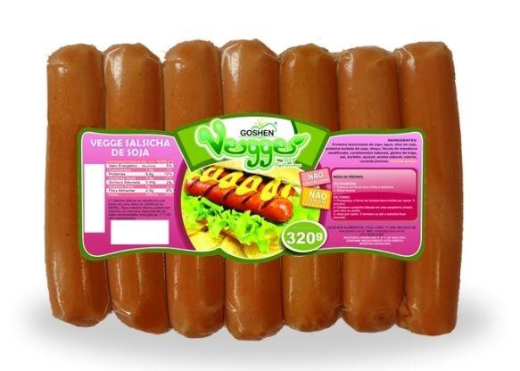 Salsicha de Soja 320g - Goshen