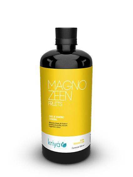 Magnozeen Fruits - Terapeutica Nutricional - 500ml