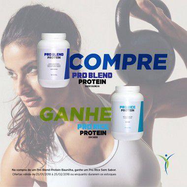 Combo: Pro Blend Baunilha + Pro Rice Sem Sabor