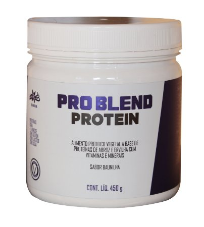 Pro Blend Protein Baunilha - Provitality - 450g