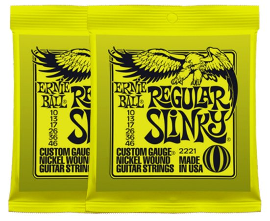 Cordas Ernie Ball Super Slinky para Guitarra - 010 - 2621 (original USA)