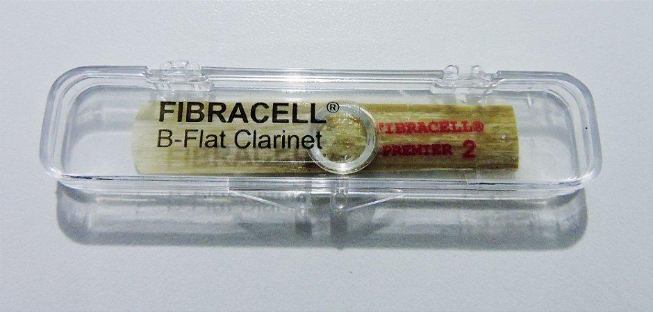 Palheta p/ Sopro Fibracell Premier - B-Flat Clarinete n°2 (original USA)