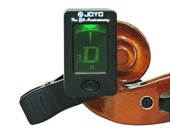 Afinador Digital Cromático Joyo modelo JT-01 para Violino