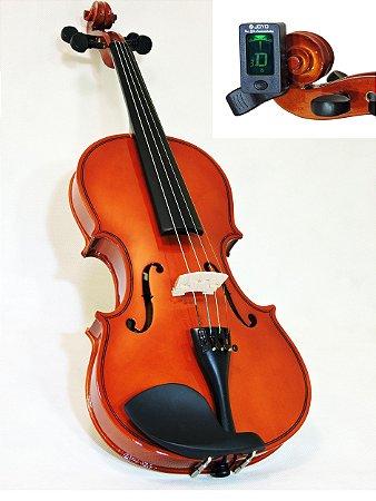 Violino Barth Violins NT 4/4 com Case (BK) + Afinador Joyo