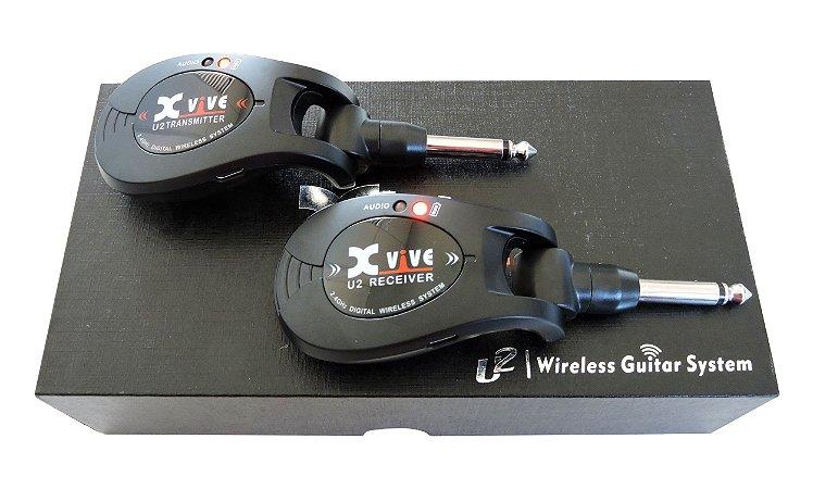 Transmissor Wireless Xvive U2 P/ Guitarra, Baixo, Violão ou Violino Elétrico - Especial