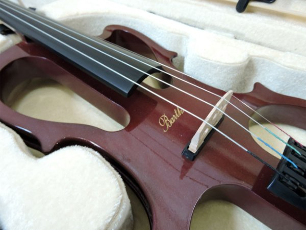 Violino Elétrico Barth Violin 4/4  - Solid Wood Rd + Estojo + Arco + Breu + Fone